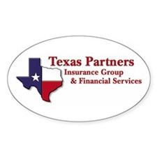 Texas Insurance Oval Decal