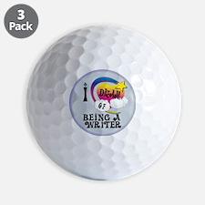 I Dream of Being a Writer Golf Ball