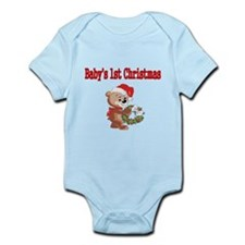 Babys 1st Christmas Body Suit