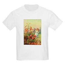 Alice in Wonderland Garden vintage art T-Shirt