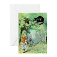 Alice in Wonderland the Cheshire Cat vintage art G