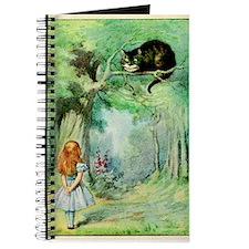 Alice in Wonderland the Cheshire Cat vintage art J