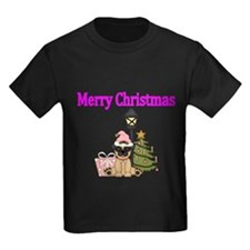 Merry Christmas with Pug Dog T-Shirt