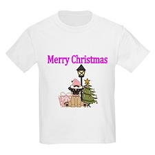 Merry Christmas with Pug Dog T-Shirt