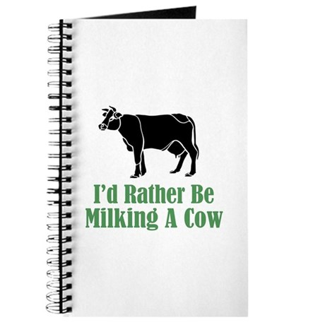 Milking a Cow Journal