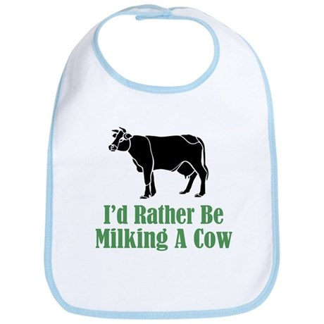 Milking a Cow Bib