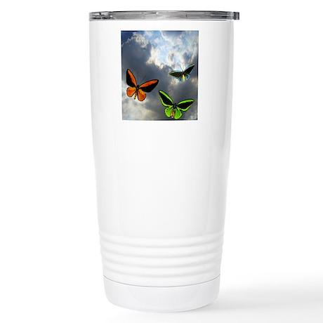 Butterflies in the Sky Travel Mug