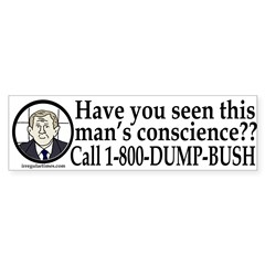 Have You Seen this Man's Conscience?