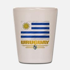 Uruguay Flag Shot Glass