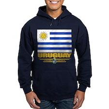 Uruguay Flag Hoodie