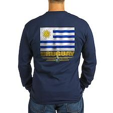 Uruguay Flag Long Sleeve T-Shirt