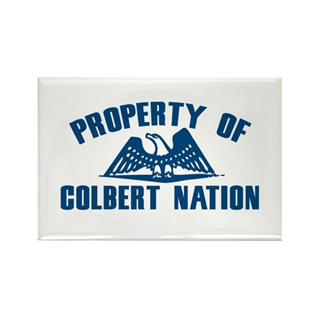 PROPERTY OF COLBERT NATION Rectangle Magnet