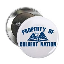 PROPERTY OF COLBERT NATION Button