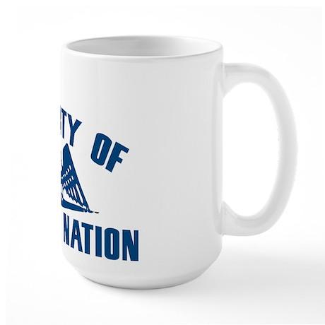 PROPERTY OF COLBERT NATION Large Mug