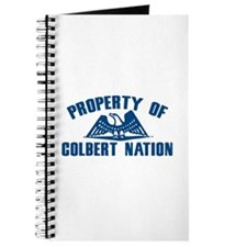 PROPERTY OF COLBERT NATION Journal