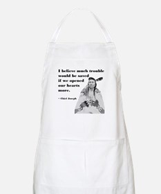 Open Hearts BBQ Apron