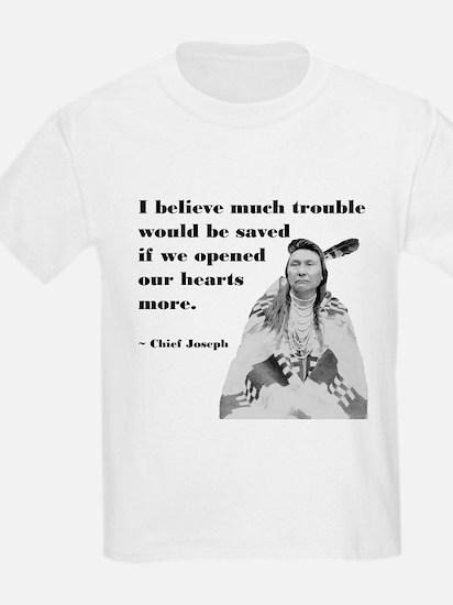 Open Hearts Kids T-Shirt