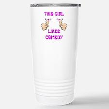 This Girl Likes Comedy Travel Mug