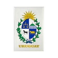Uruguay COA Rectangle Magnet