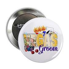 "VEGAS Groom 2.25"" Button"