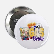 """VEGAS Bride 2.25"""" Button"""