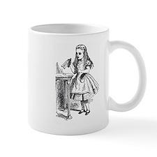Drink Me Alice in Wonderland vintage art Mug