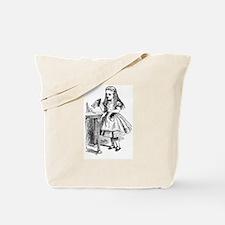 Drink Me Alice in Wonderland vintage art Tote Bag