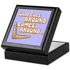 Karma - What Goes Around Comes Around Keepsake Box