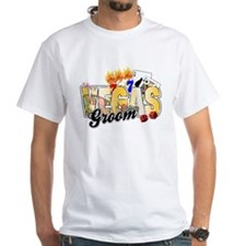 Vegas Wedding Groom Shirt