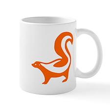 Orange Skunk Small Mug