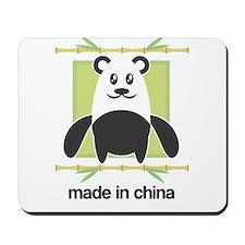 Made in China Panda Mousepad