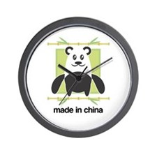 Made in China Panda Wall Clock