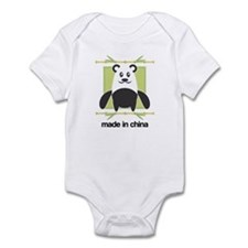 Made in China Panda Infant Bodysuit