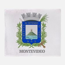 Montevideo COA Throw Blanket