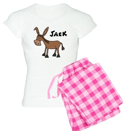 Funny Donkey Named Jack Women's Light Pajamas