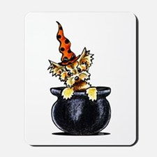 Yorkie Witch Mousepad