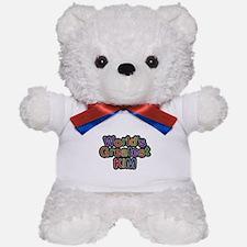 Worlds Greatest Kim Teddy Bear