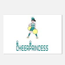 CheerPrincess Postcards (Package of 8)