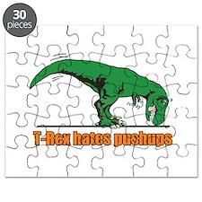 T Rex hates pushups Puzzle