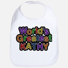 Worlds Greatest Kathy Bib