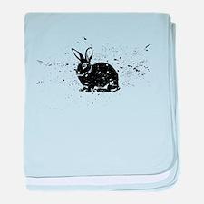 Unique Rabbit baby blanket