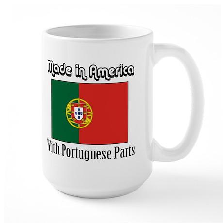 Portuguese Parts Large Mug