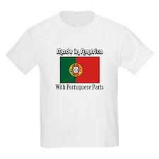 Portuguese Parts Kids T-Shirt