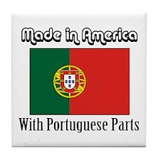 Portuguese Parts Tile Coaster