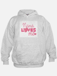 Nana Love Me (pink) Hoodie