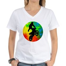 Motocross in a Solar Meltdo Shirt