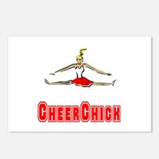 CheerChick Logo Postcards (Package of 8)