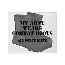 AF Niece Aunt CB Throw Blanket