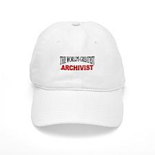 """The World's Greatest Archivist"" Baseball Cap"