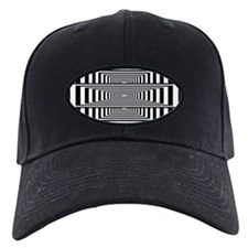 Optical Illusion Rectangles Baseball Hat